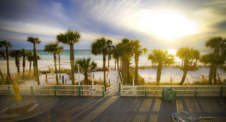 Sandpiper Beacon Beach  Resort - Panama City, FL (nice for a quick weekend getaway, non-kid season of course).