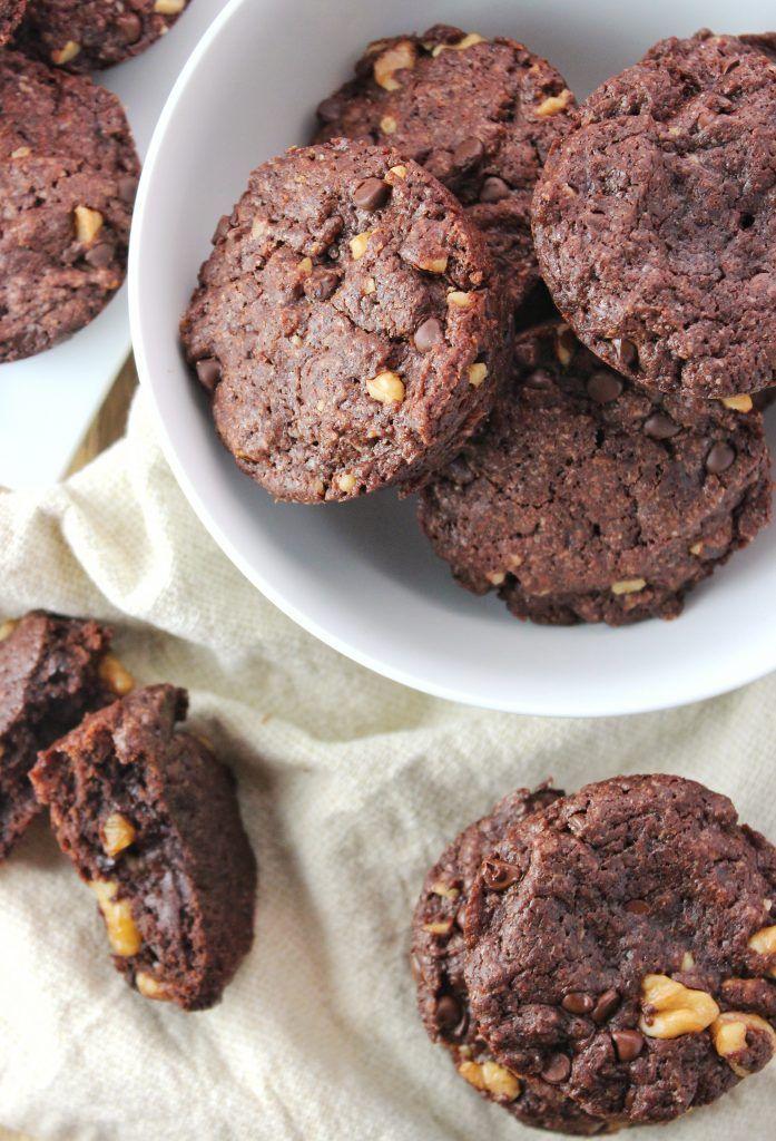 Easy Vegan Brownie Bites