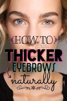 Makeup Needed For Eyebrows   How To Do Your Eyebrows At ...