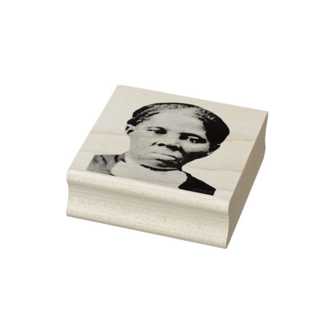 Put Harriet Tubman On Your 20 Dollar Bill Rubber Stamp | Zazzle.com