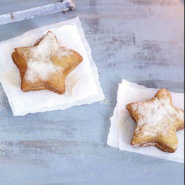 Sternkrapfen aus Winterhefeteig Rezept | Küchengötter