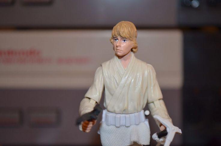 Star Wars The Vintage Collection Death Star Escape Luke Skywalker Loose