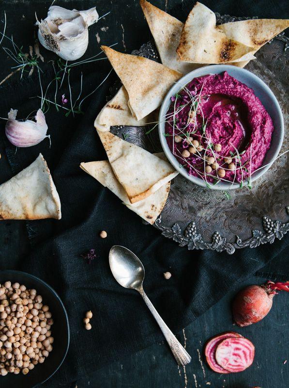 Hummus à la betterave - Science & Fourchette