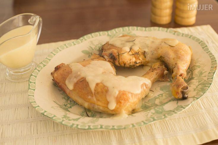 Pollo con miel y limon