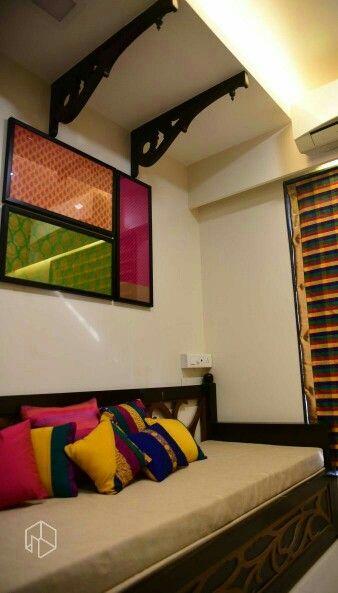 Indian fabrics framed!!