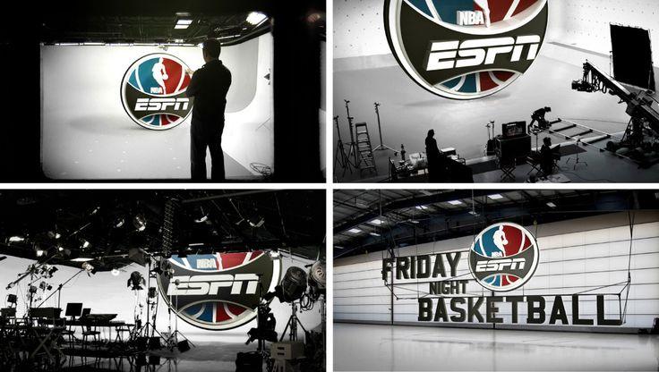 ESPN NBA Design devilsboom Design, Sports graphics