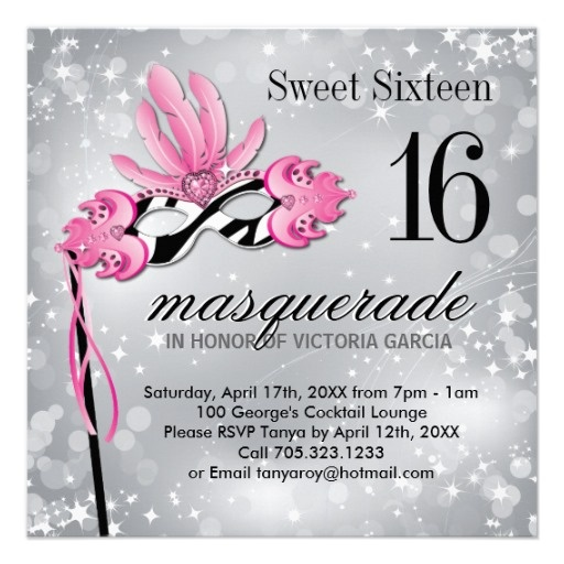 58 Best Masquerade Sweet 16 Images On Pinterest