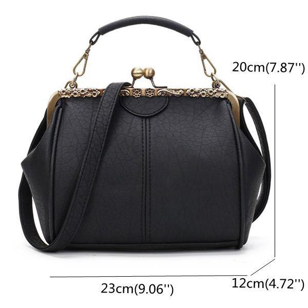 ab1f19a7c02d Hot-sale designer Women Vintage Hasp Bucket Bags PU Leather ...