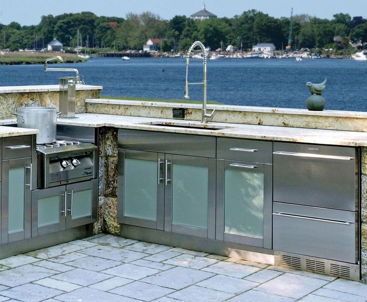 Danver Outdoor Cabinets Made From Stainless Steel Are Made To Withstand The  Elements And Provide You With A Beautiful Outdoor Kitchen Build To Lastu2026