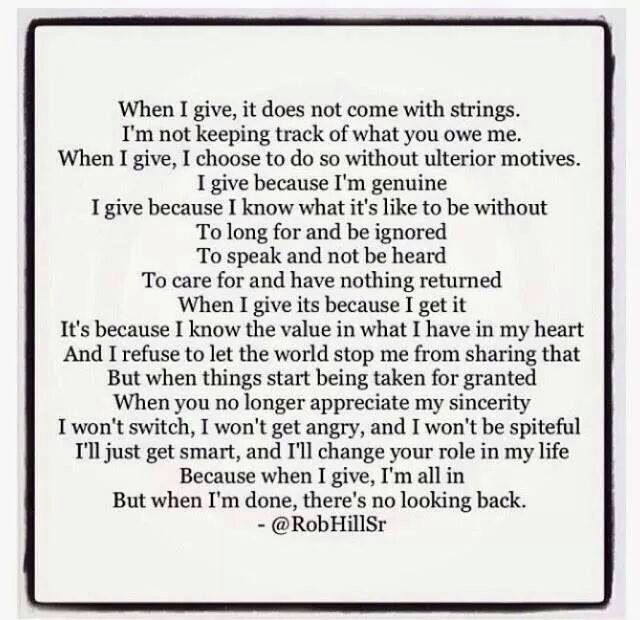 Taken For Granted Quotes Relationships