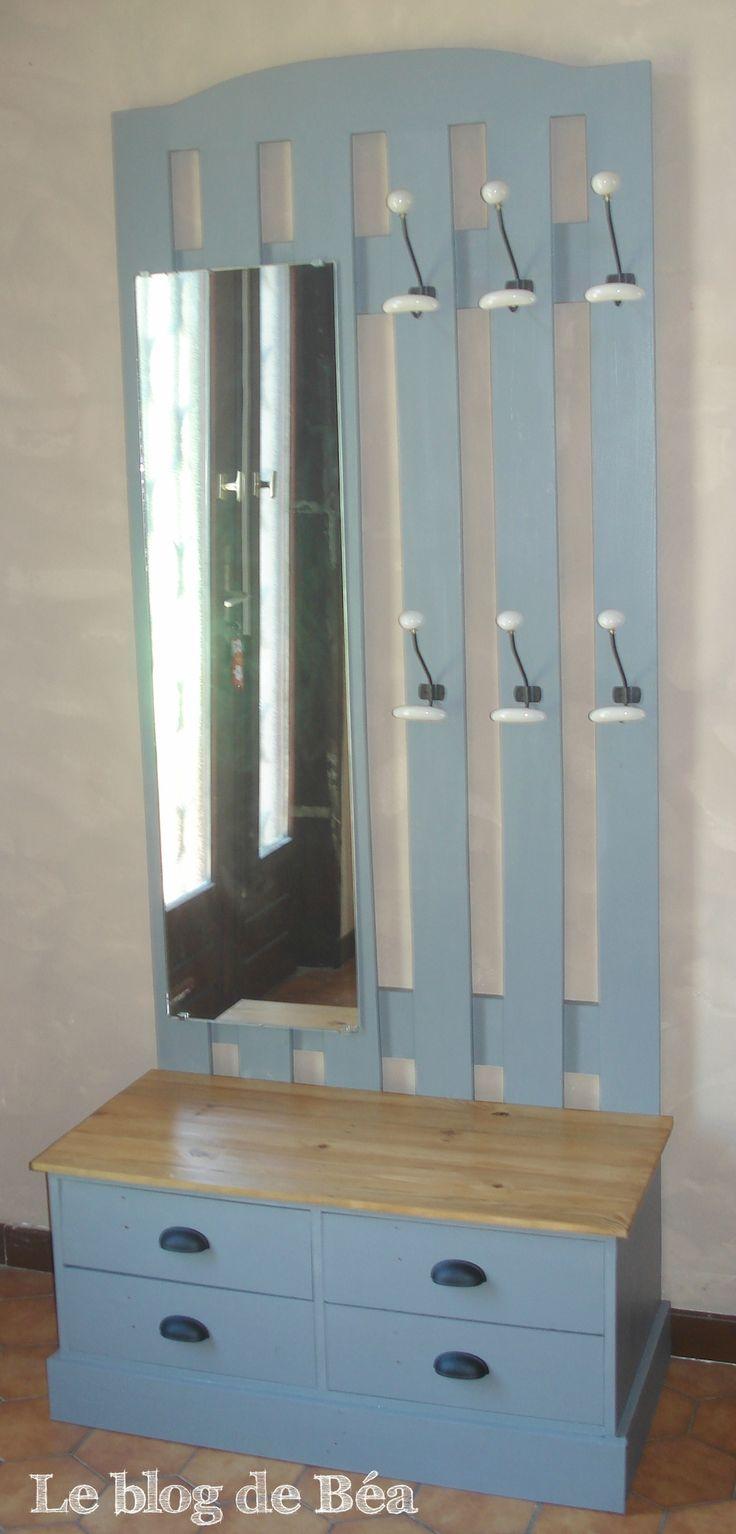 90 best les diy et pas pas du blog de b a images on pinterest 1001 pallets crates and. Black Bedroom Furniture Sets. Home Design Ideas