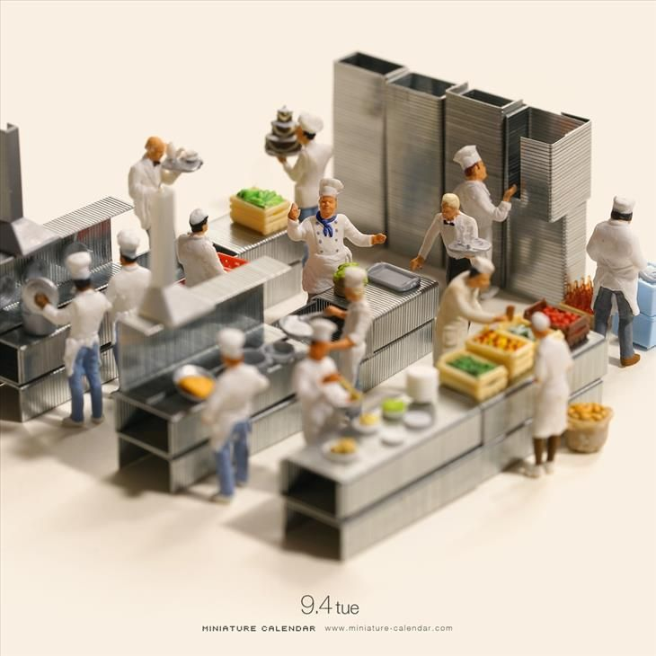 Check Out The Amazing Miniature World This Artist Created