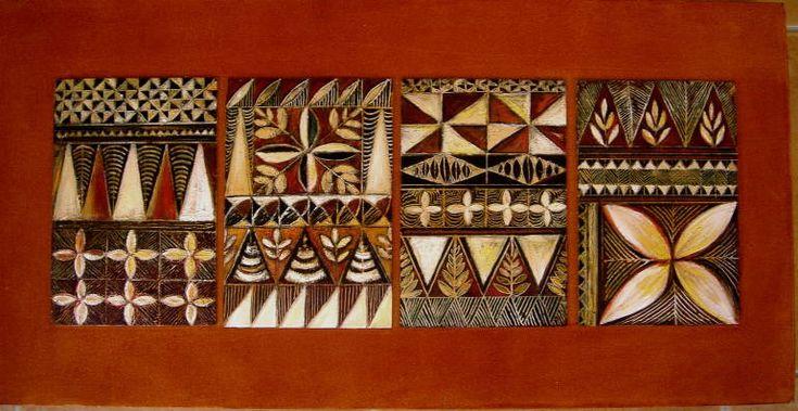 tapa cloth designs | Tapa patterns - Pauline Tapping