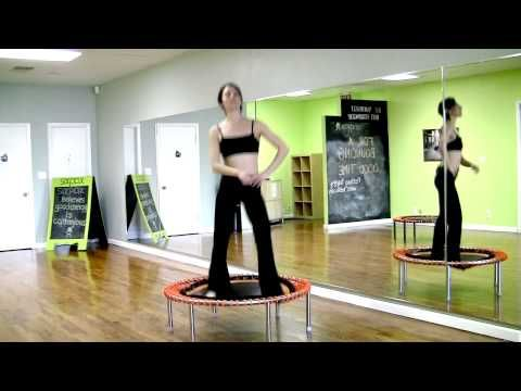 3 Minuten bellicon® Trampolin Training für Damen von Regina Ziegler - YouTube