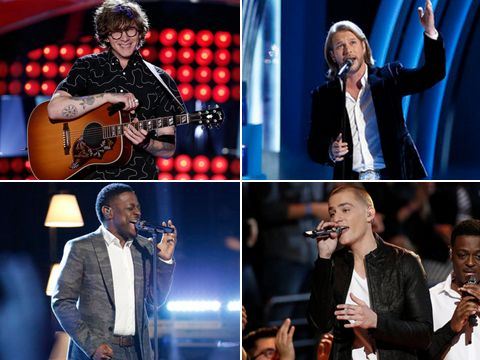 "We are live-blogging ""The Voice"" finale results episode tonight! The show is sure to be a wild ride as superstars like Ed Sheeran, Hozier, Jennifer Hudson and Bruno Mars take the stage before the Season 7 winner is crowned."