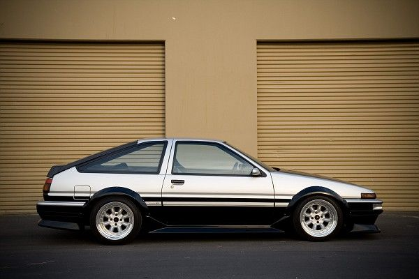 Looks just like my first car. 1985 GTS Corrolla AE86. Just missing the GTS twin cam 16 down the side. Love that car. I guess that's why I still have it. A need for speed and corners.