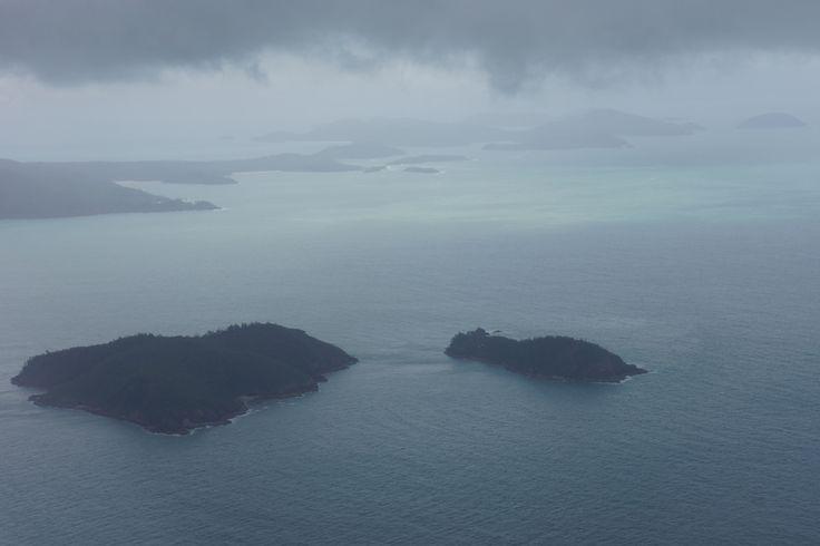 Overcast on departure from the Whitsundays | Virgin Australia