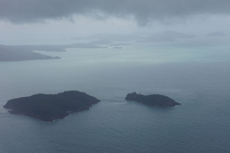 Overcast on departure from the Whitsundays | Virgin Australia