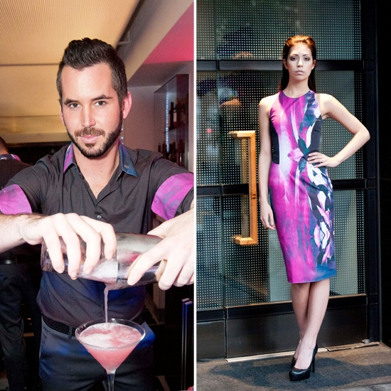 Michael Angel unveils his new staff uniforms at the W Hotel San Francisco.
