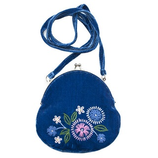 Adorn your arm this summer with our gorgeous vintage style shoulder bag. This Folk Flowers design was inspired by a pattern on one of my own vintage cardigans.