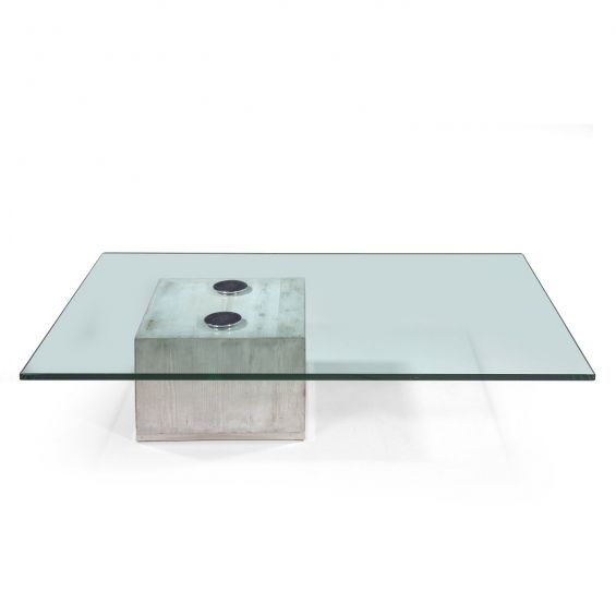 Best Beton Images On Pinterest Decks Bedrooms And Bricolage - Concrete and glass coffee table