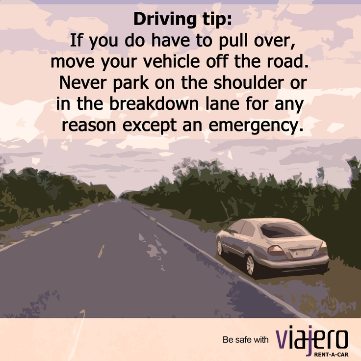 Get Car Insurance Quotes Without Personal Information: Driving Tip: Pulling Over Safely On The Motorway Or Hard