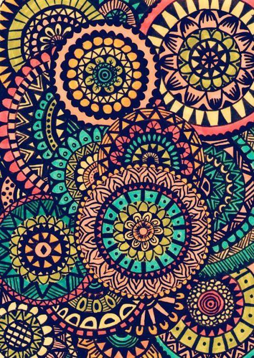 Mandalas de colores buscar con google mandalas - Mandalas en colores ...