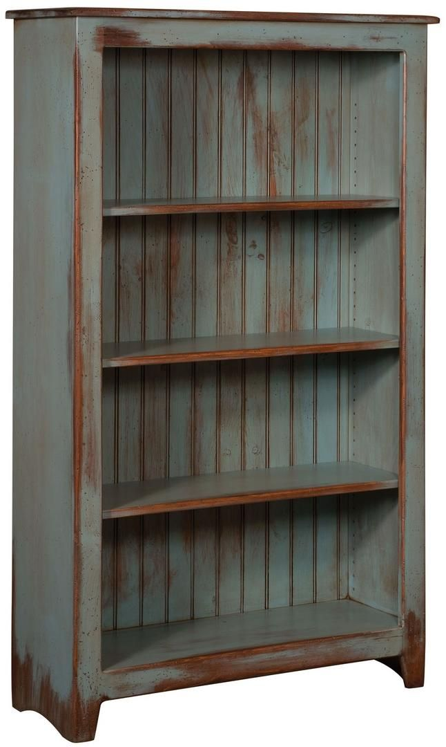 Chelsea Home Furniture Cornelia 465114sda 36 Inch Bookcase With 4 Shelves Distress Antique And In 2020 Pine Bookcase Primitive Furniture Primitive Decorating