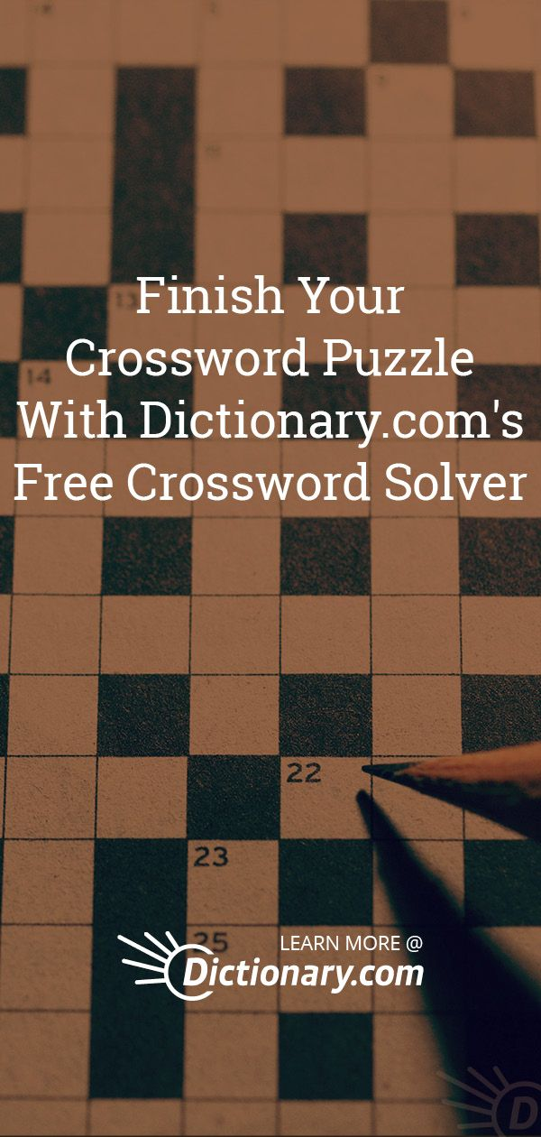 Crossword Clues: Solve Crossword Puzzles for Free | Crosswords and