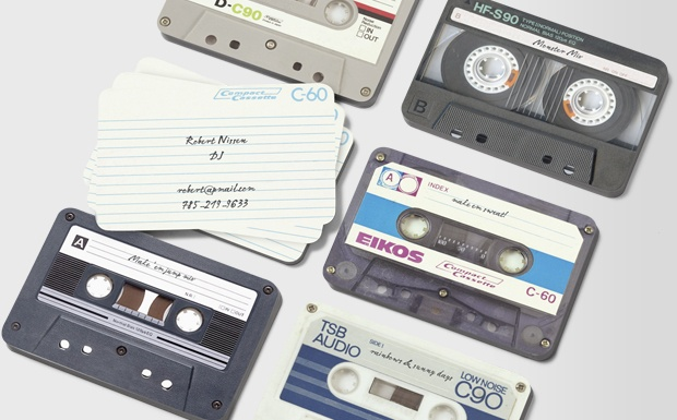 I Made You a Mixtape #moocard #businesscard