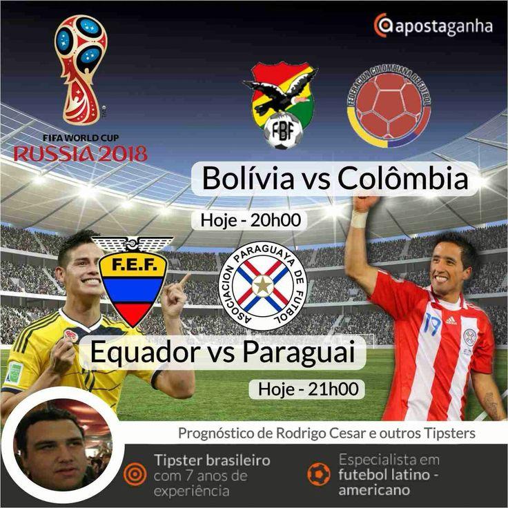 Confere os prognósticos do nosso especialista Rodrigo Cesar para as eliminatórias do Mundial 2018...  http://www.apostaganha.com/2016/03/24/prognostico-apostas-bolivia-vs-colombia-qualificacao-mundial-2018-234/  http://www.apostaganha.com/2016/03/24/prognostico-apostas-bolivia-vs-colombia-qualificacao-mundial-2018-879/  http://www.apostaganha.com/2016/03/24/prognostico-apostas-bolivia-vs-colombia-qualificacao-mundial-2018…