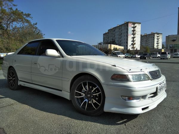 Продажа авто Toyota Mark II 1998 в Фокино, Продам отличный Марк, 2.5 л., коробка AT, седан, бензиновый двигатель