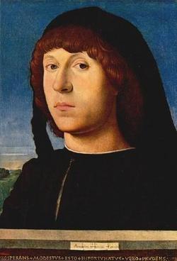 ANTONELLO da Messina Portrait Of A Man 1474