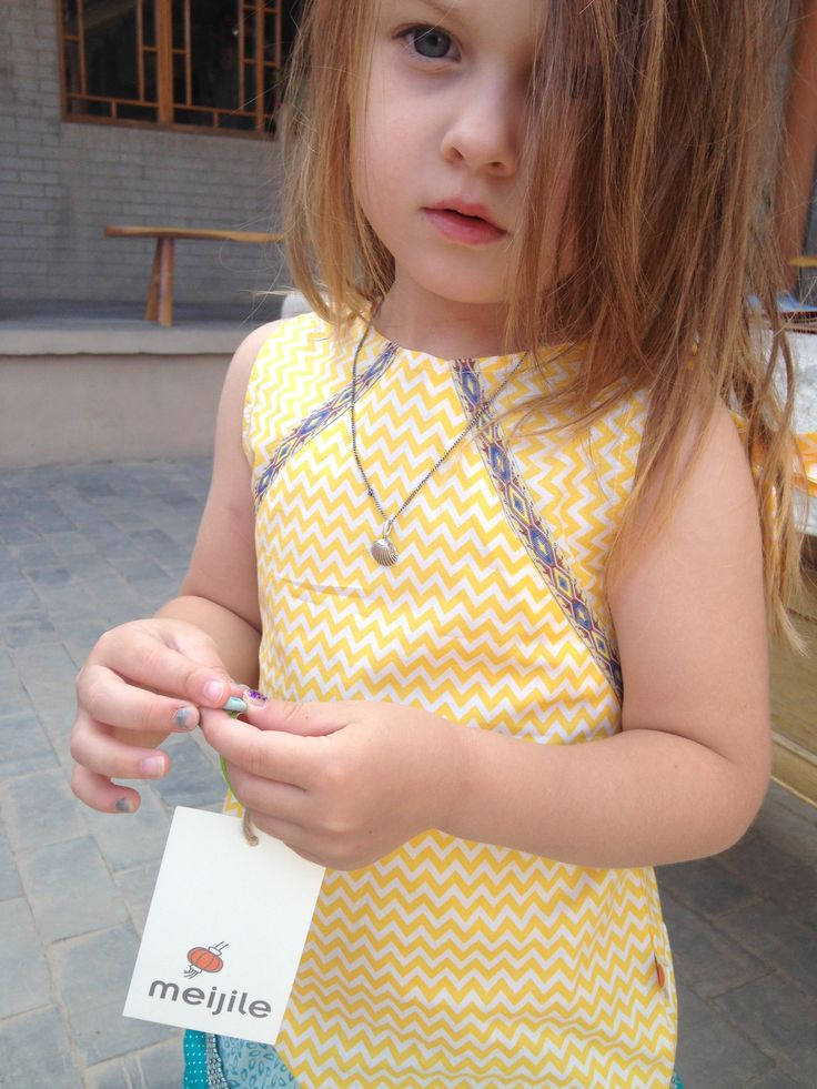 meijile girls summer shirt. or sometimes even worn as dress by the tiny ones...