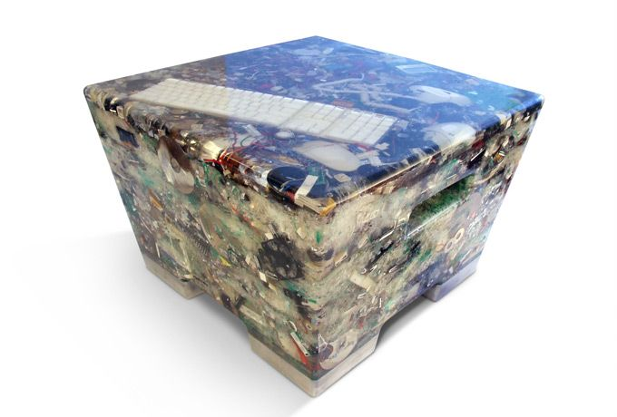 Rodrigo Alonso turns electronic waste into new medium for eco-designers.
