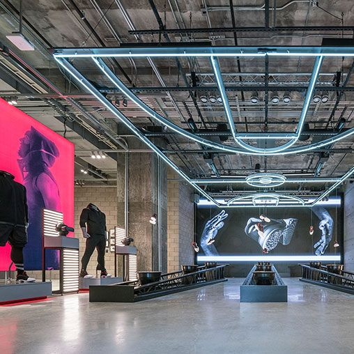 As a brand flagship and the company's largest store worldwide, adidas NYC celebrates creativity and sport using the new stadium retail concept...