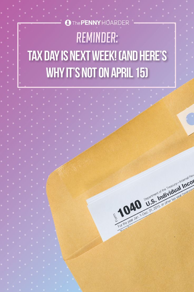 When is Tax Day 2017? Typically it falls on April 15 but this year it's a few days later than usual. Here's why.