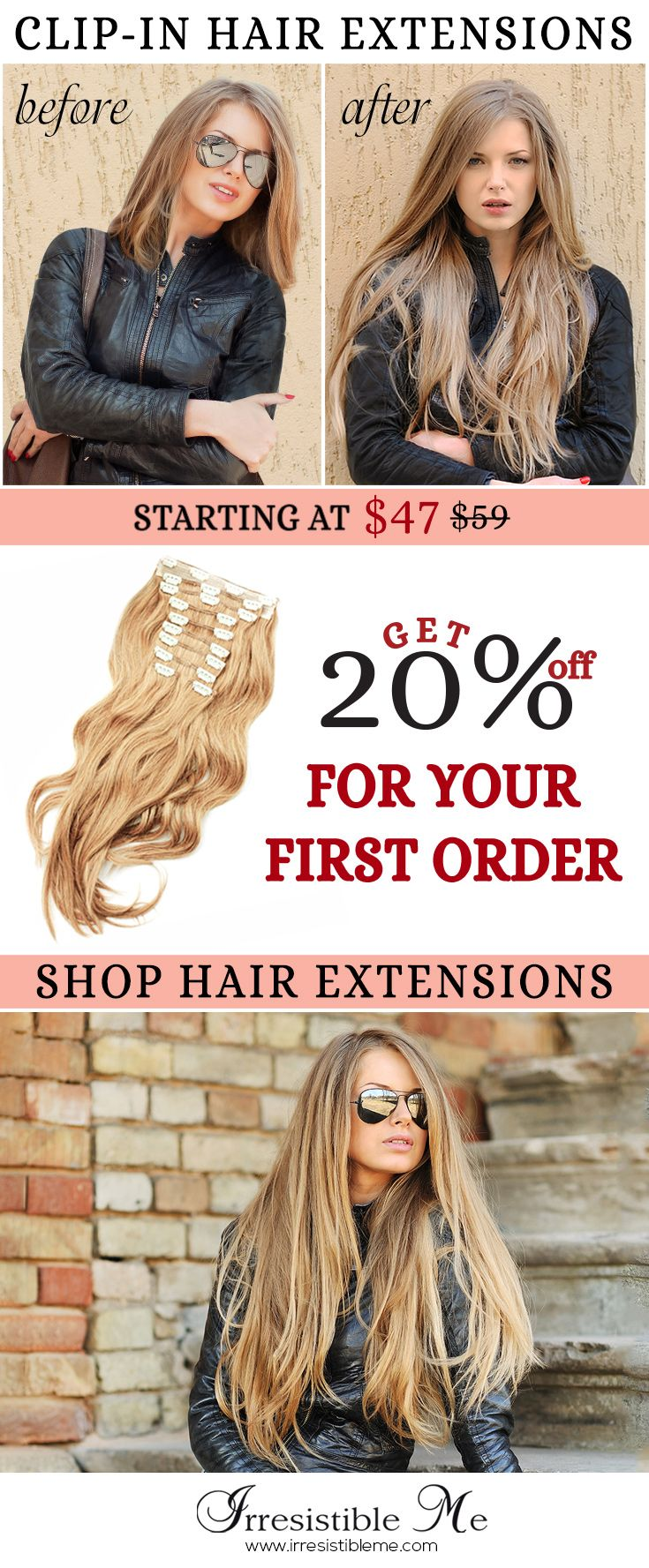 487 best irresistible me clip in hair extensions images on youll have instant long hair in less than 5 minutes with irresistible me 100 human remy clip in hair extensions pmusecretfo Image collections
