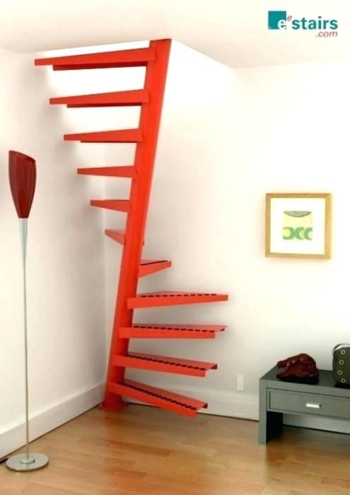 awesome Staircase Ideas For Small Houses Part - 13: staircase ideas for small spaces staircase ideas for small spaces small  space spiral staircase awesome uniquely awesome spiral staircase ideas for  staircase ...