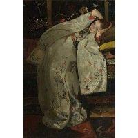 Glasschilderij Meisje in Kimono | Loods 5 | Jouw stijl in huis meubels & woonaccessoires