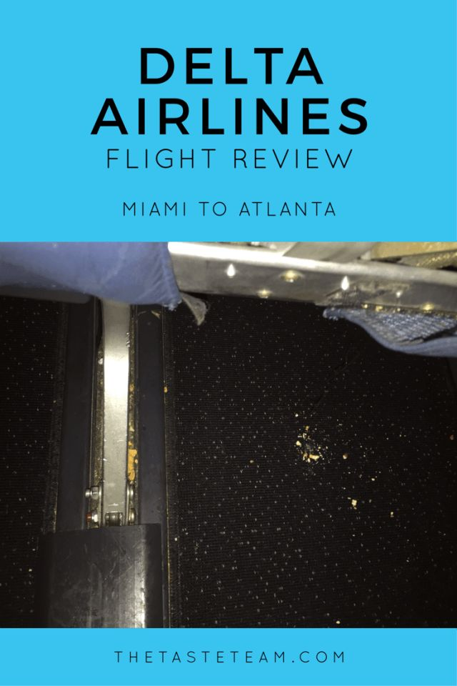 Delta Airlines Miami to Atlanta Flight Review
