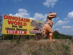 Dinosaur World   Atlas Obscura