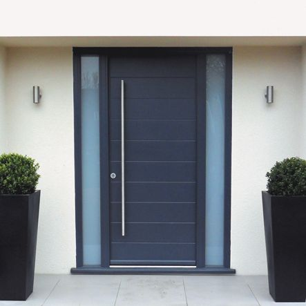 external door aluminium side window grey - Google Search