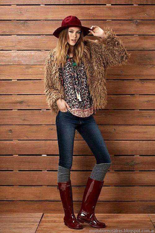 Tapados de pelo Kevingston Mujer otoño invierno 2015. Moda otoño invierno 2015.