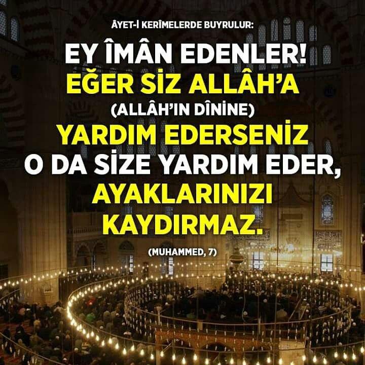 #ey #iman #edenler #siz #Allah #yolunda #yardım #edin #yaşam #hayat #kolaylık #ayet #ilmisuffa