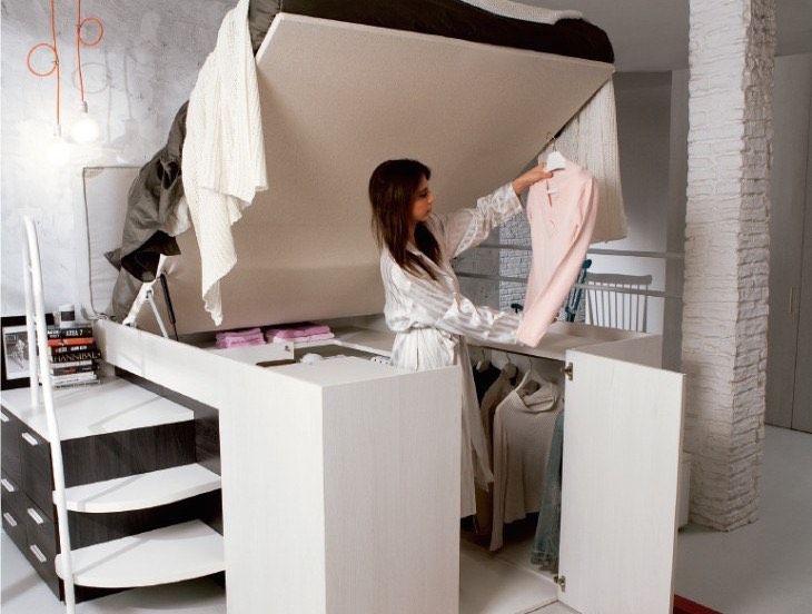 Best 20+ Space Saving Beds ideas on Pinterest   Kids loft bedrooms ...