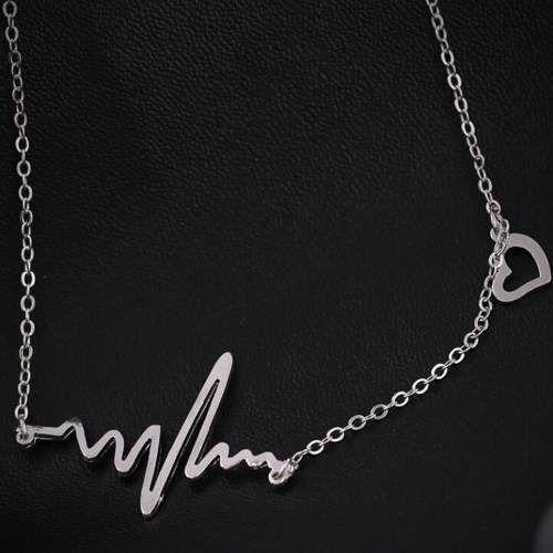 Colar Greys Anatomy - Batimentos Cardíacos Coração Cristina - R$ 19,90 em Mercado Livre