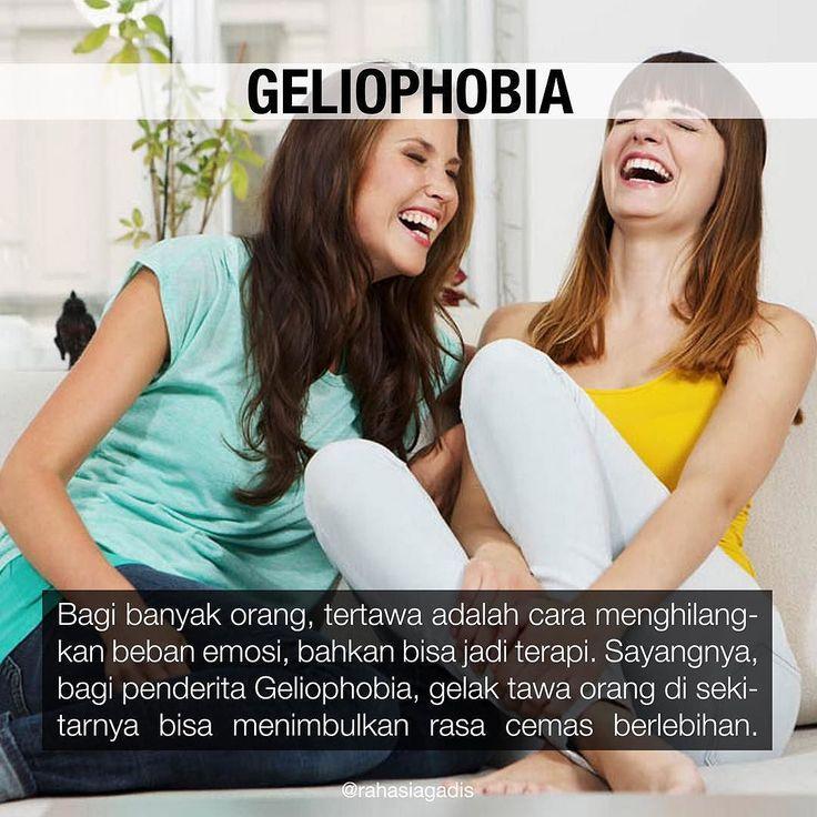 Apakah kamu mengalami geliophobia?  #rahasiagadis #rahasiaphobia #geliophobia