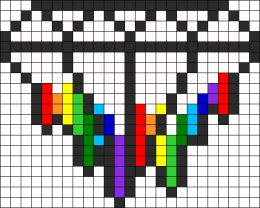 Diamond Melting Rainbow