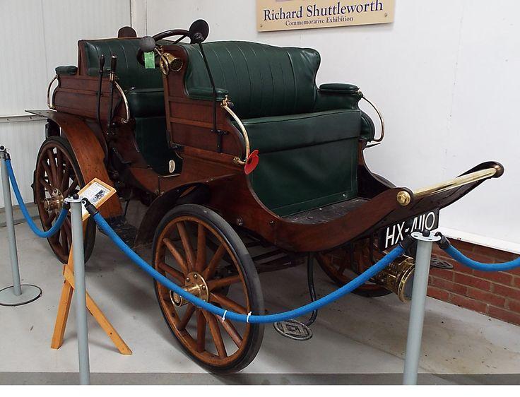Arrol-Johnston Dogcart 1901 Shuttleworth Collection